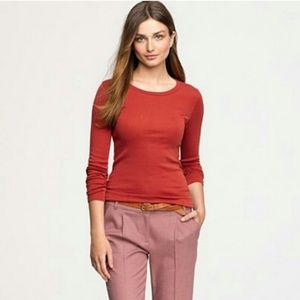 J. Crew🌷Fitted long sleeved Top